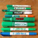 最高の暗記用ペンを使い比べまくって決定したよ!(緑ペン編)