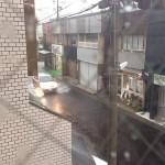 名鉄が5時間止まった雷雨の日、岩倉校は5講を中止しました。