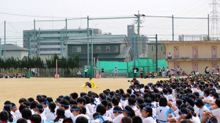 岩倉中学の野木森校長、教師生活お疲れさまでした!