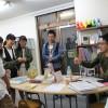 15年来の塾仲間が教室見学にやってきた!
