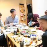元講師たちと日本酒を片付ける宴を開いた!