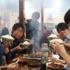 今日は講師たちと12名でヤミツキ系焼肉店の山力@一宮を攻めっから!