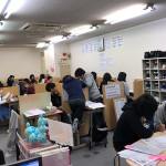 テスト前の教室の雰囲気はどんどん良くなってきてます!