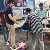 インドの道端の「体重測り屋さん」で体重を測ってきたよ!