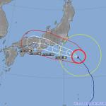 本日は台風12号で暴風警報が発令されたので教室を閉めます!