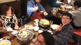 講師たちと平成最後の忘年会に行ってきた!