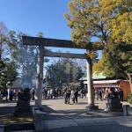 元旦は岩倉で初詣巡り!