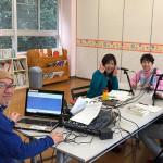 ラジオ番組に県議会議員の先生に出演してもらえたよ!