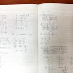 ノートの書き方指導は手本の現物をこれでもかと見せる!