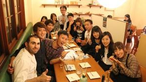 岩倉のフランス家庭料理「ビストロロベン」で講師たちと宴を!